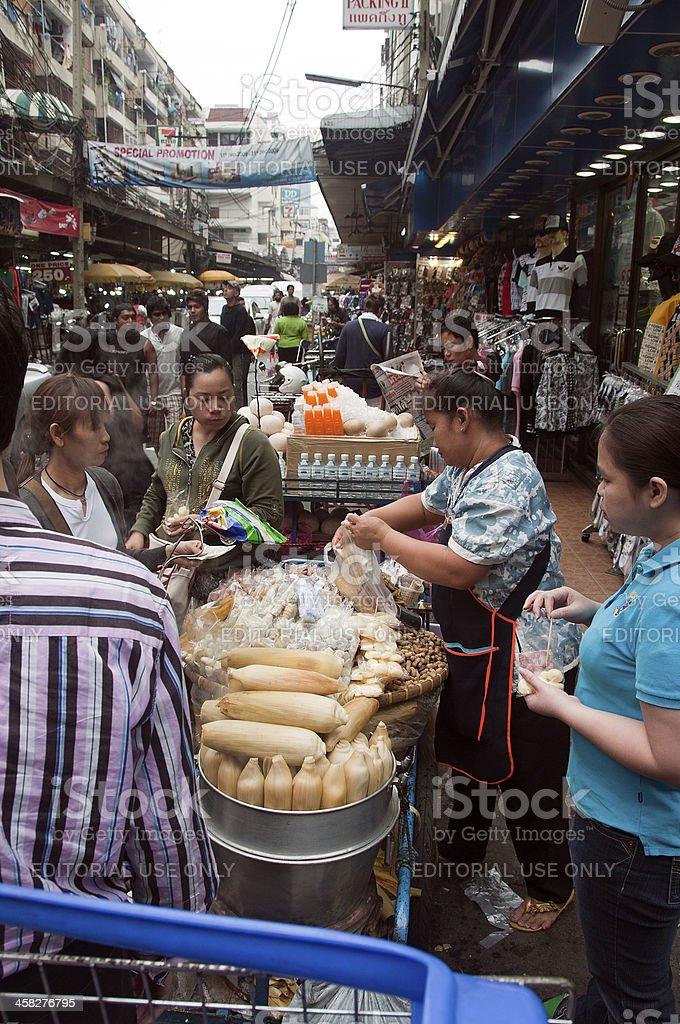 street food bangkok royalty-free stock photo