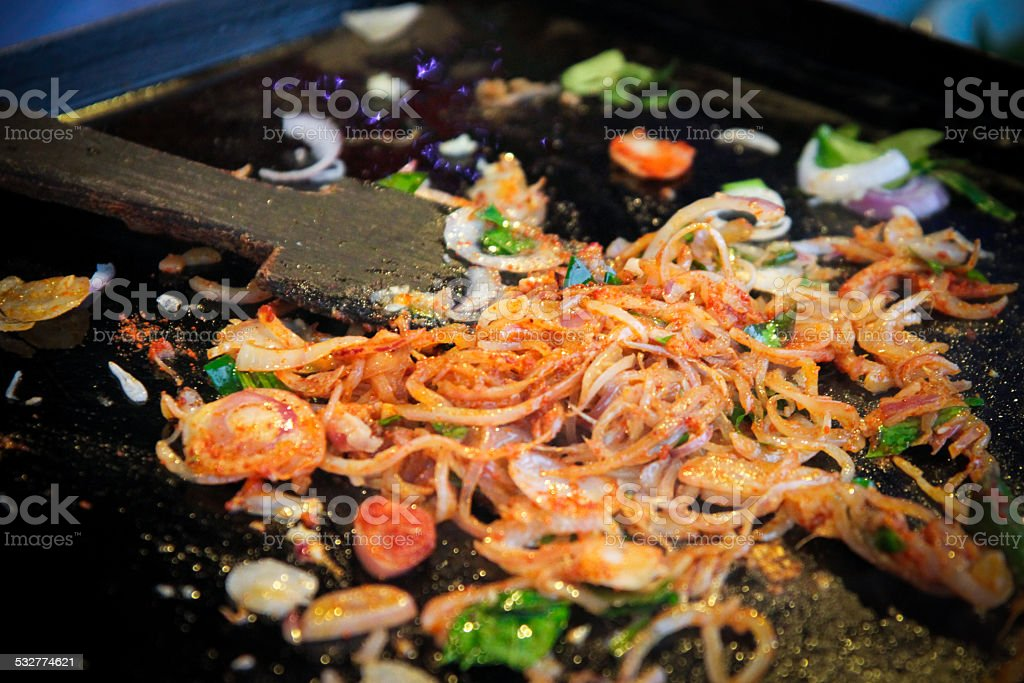 Street Food Fried Noodles stock photo