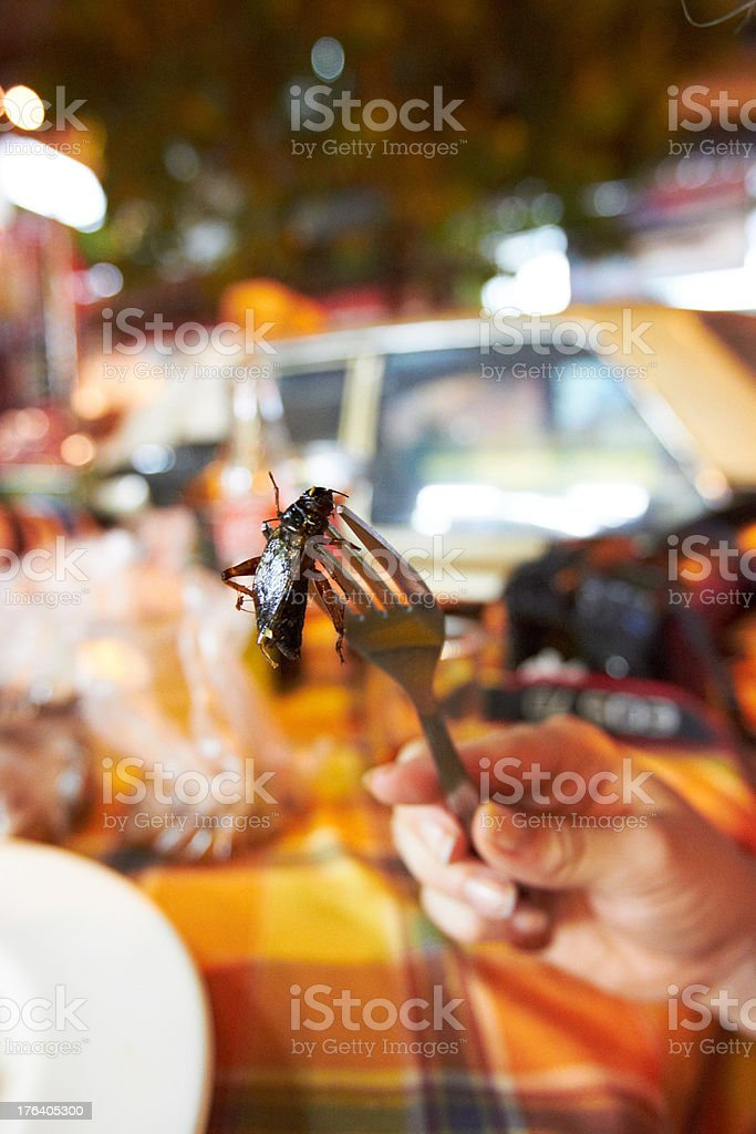 Street food from another culture royalty-free stock photo