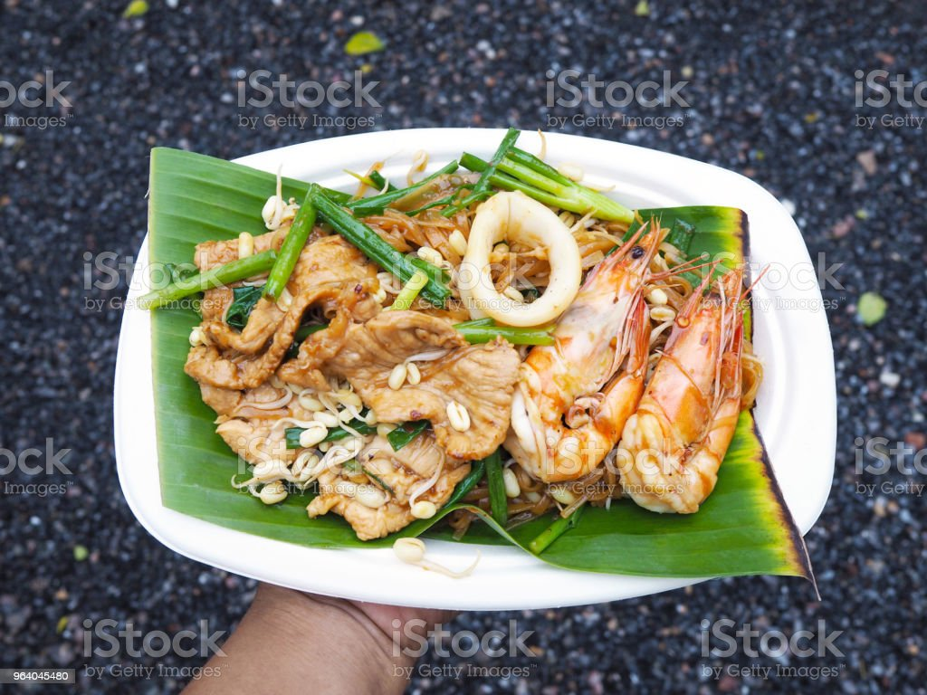 street food Pad Thai - Royalty-free Asia Stock Photo