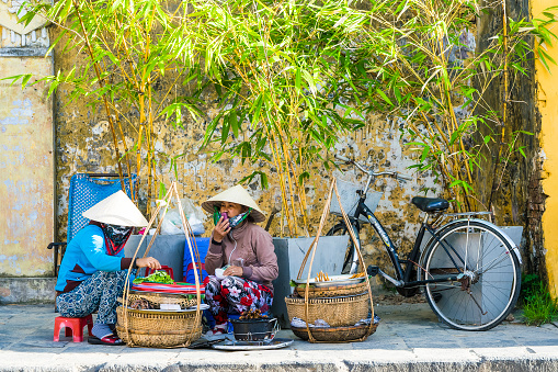 Street Food Vendor in Hoi An