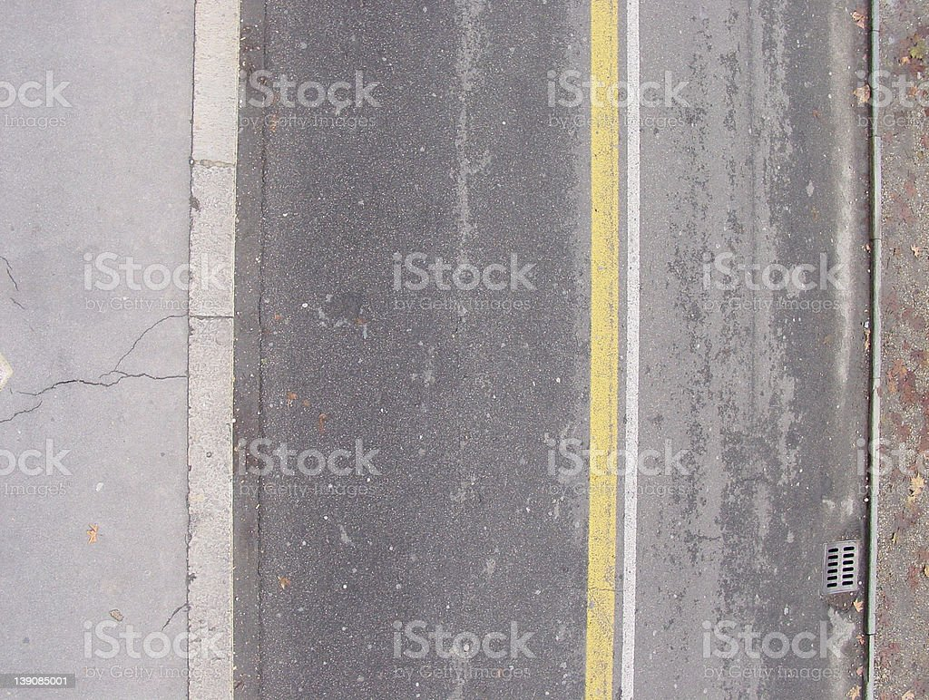 Street from above 4 royalty-free stock photo
