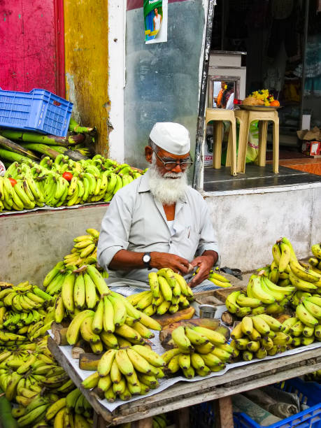 street fruit merchant. - wreck of the ss yongala stock pictures, royalty-free photos & images