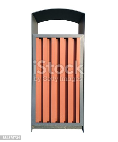 istock Street garbage can 881376734