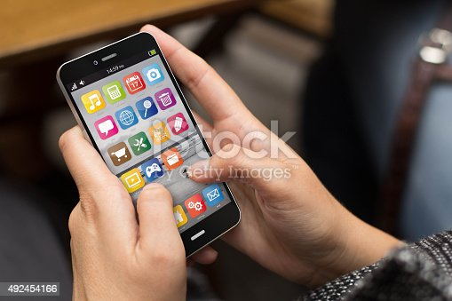 istock street girl smartphone 492454166