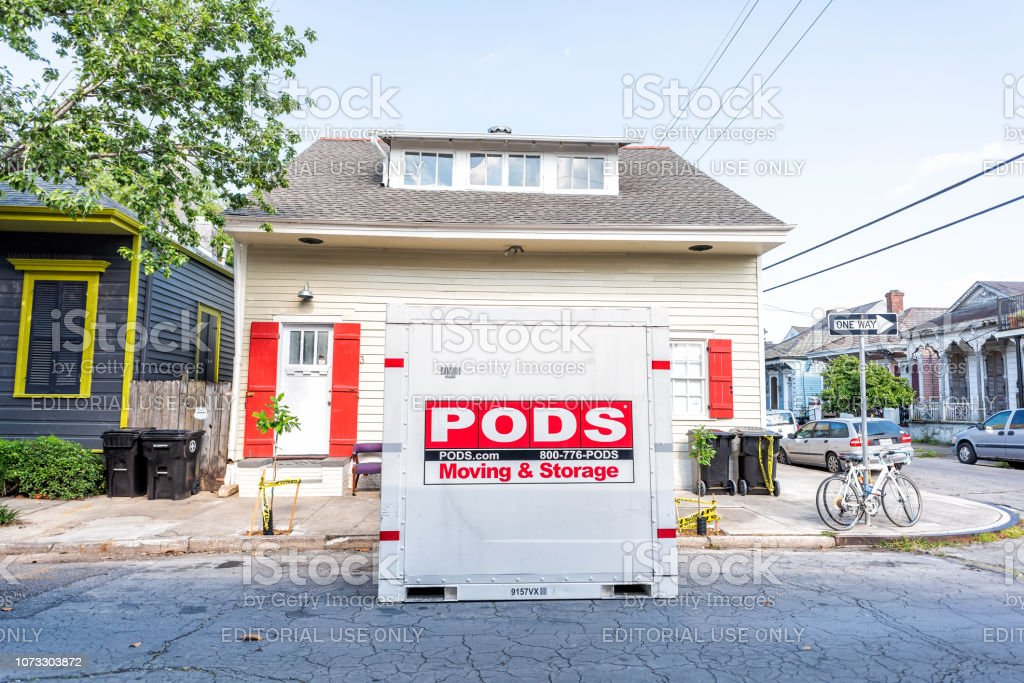 Pods Moving And Storage >> Street Historic Marigny Neighborhood District In Louisiana