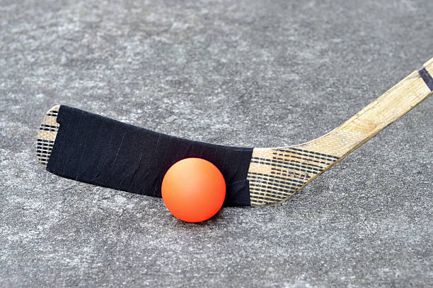 street hockey - hockey stick stock pictures, royalty-free photos & images