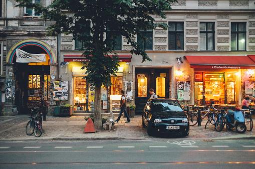 Street in Berlin, Prenzlauer Berg