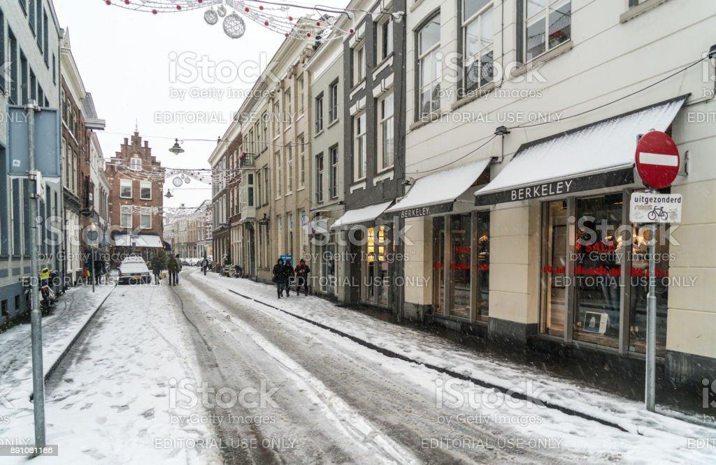 Straße in's-Hertogenbosch, Niederlande – Foto
