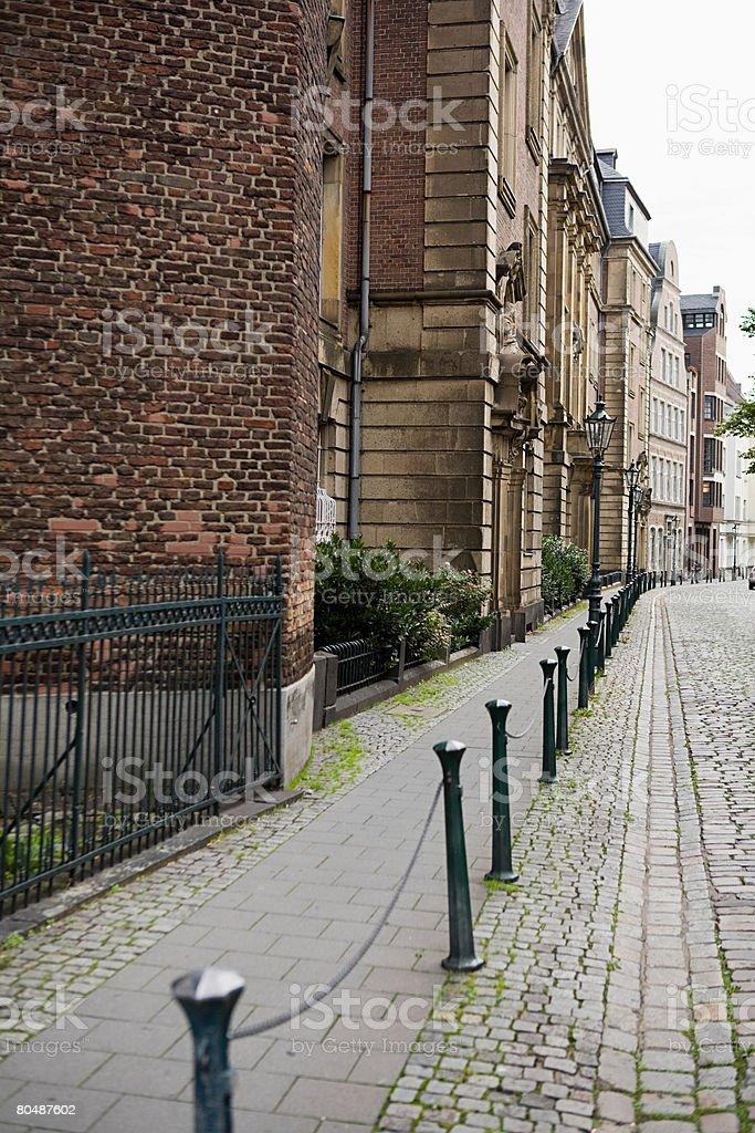 A street でデュッセルドルフ ロイヤリティフリーストックフォト