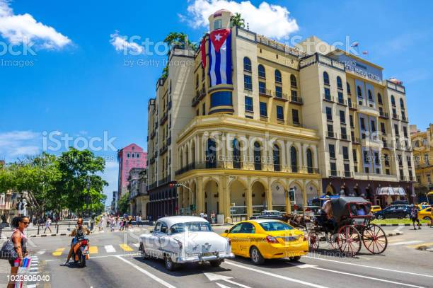 Street in havana cuba with coloured vintage american car picture id1022905040?b=1&k=6&m=1022905040&s=612x612&h=pk2a51zznsav4ja0lp79ec0wkygl7tkeiydws9ur06m=