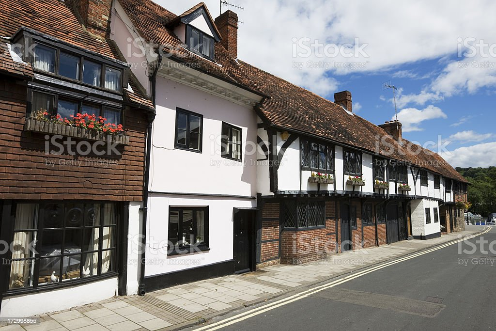 Street in Henley on Thames stock photo