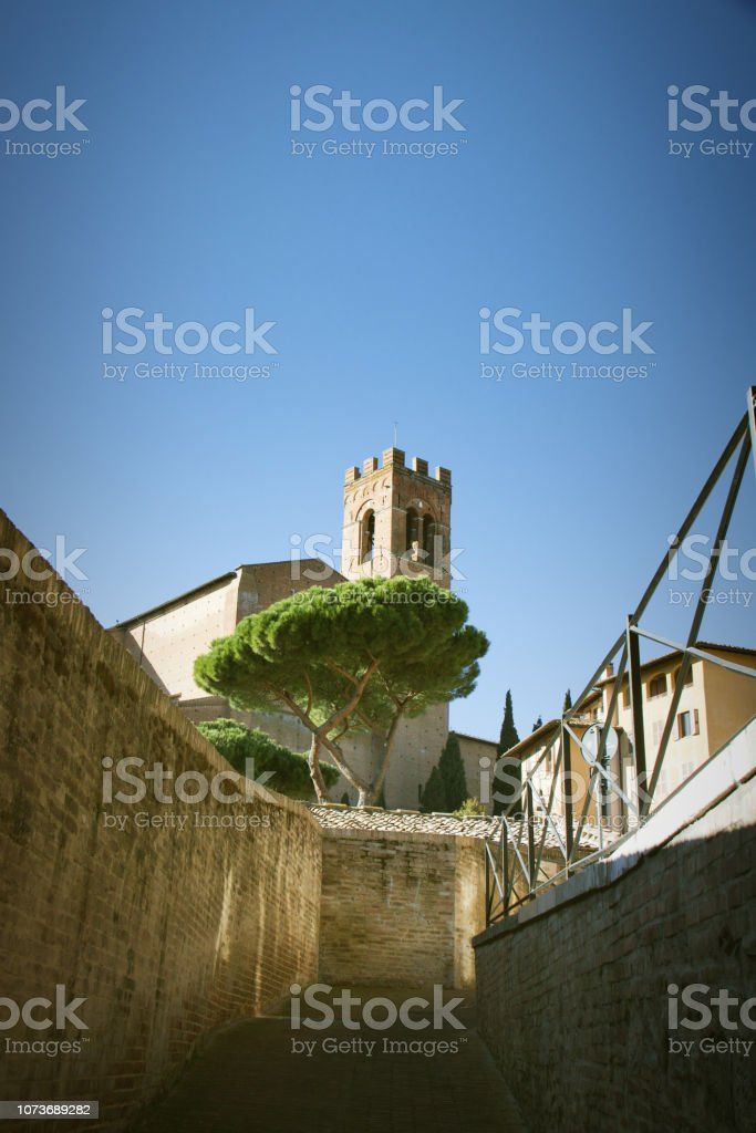 Street in  Italy стоковое фото