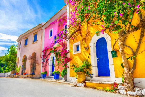 Straße in Kefalonia, Griechenland – Foto