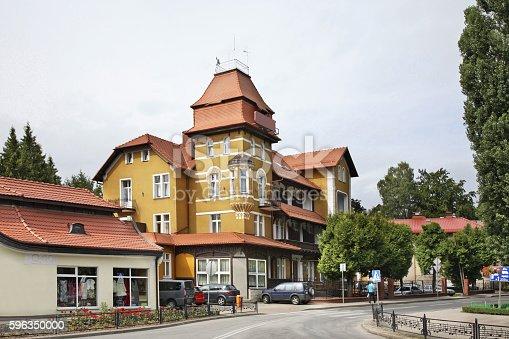 Street In Kudowazdroj Poland Stock-Fotografie und mehr Bilder von Architektur