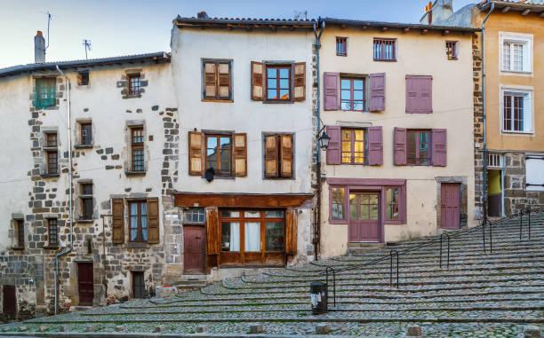 Straße in Le Puy-en-Velay, Frankreich – Foto