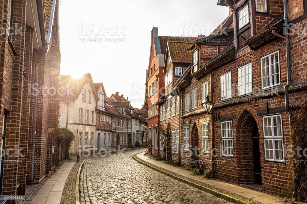 Straße in Lüneburg – Foto