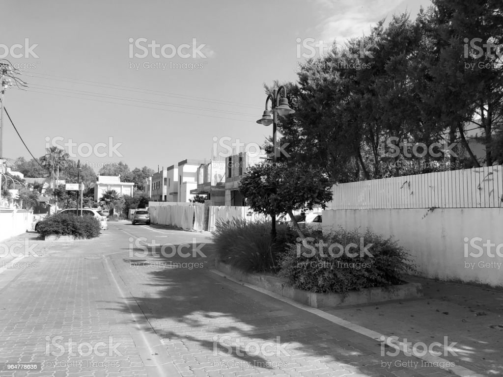 RISHON LE ZION, ISRAEL - APRIL 30, 2018: Street in Rishon LeZion, Israel royalty-free stock photo
