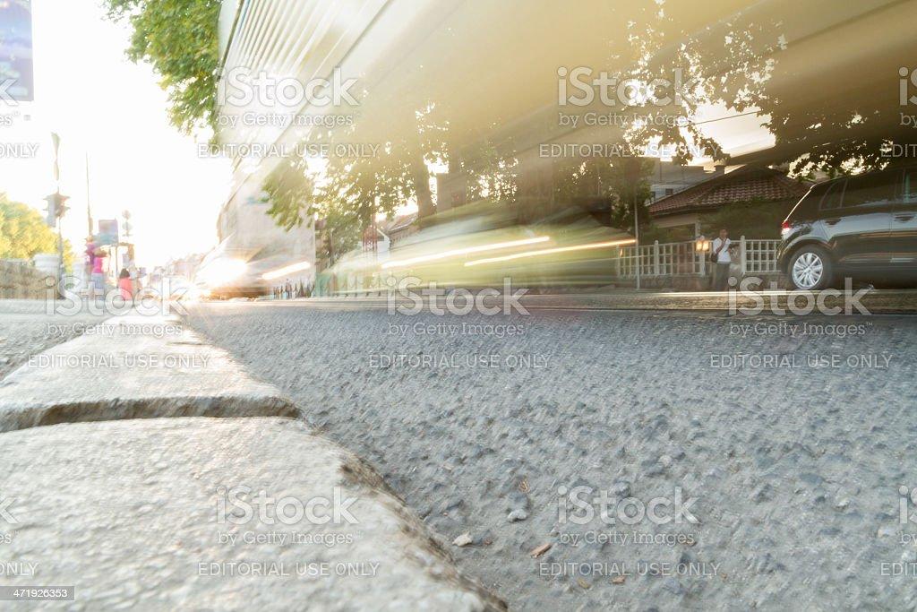Street in Sarajevo royalty-free stock photo