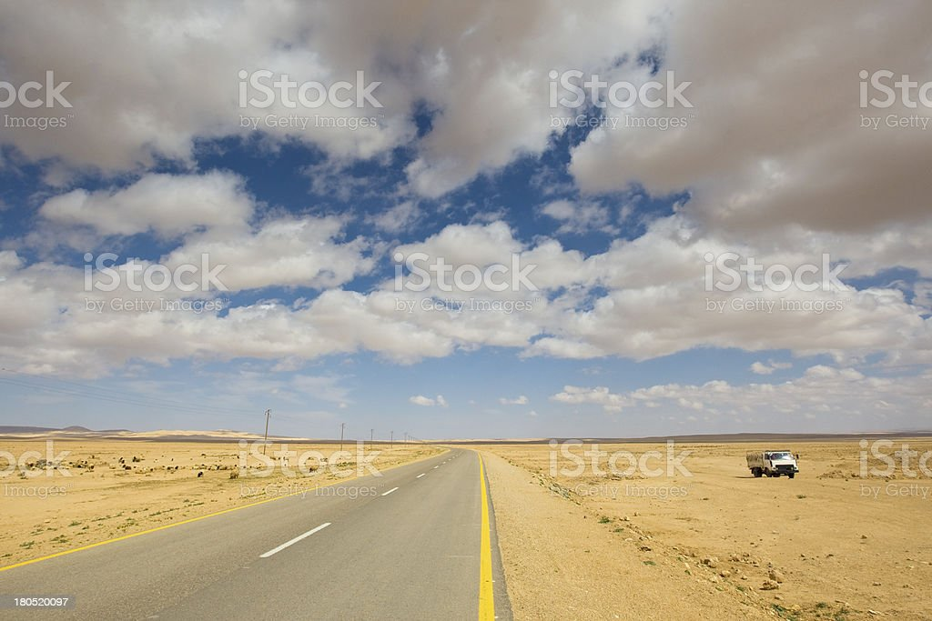Strasse in Syrien royalty-free stock photo
