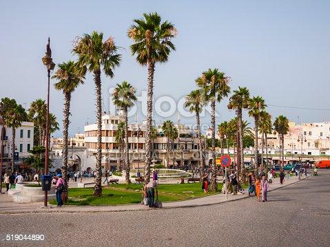 istock Street in Tangiers, Morocco 519044890