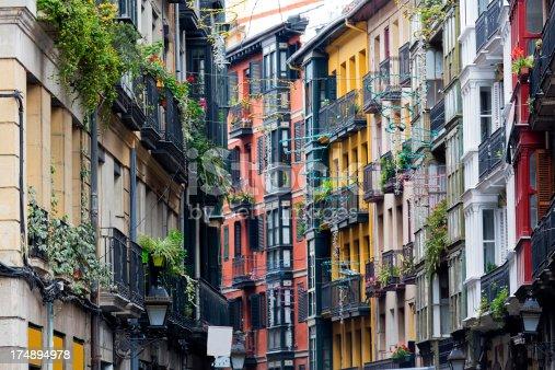 istock A street in the city of Casco Vieno, Bilbao 174894978