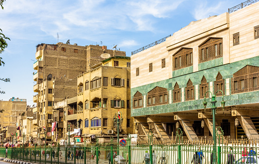 468444004 istock photo Street in the Islamic district of Cairo - Egypt 465991528