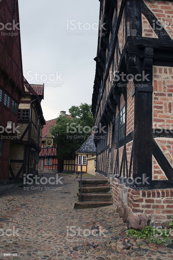 Street in the Old Town royalty-free stock photo