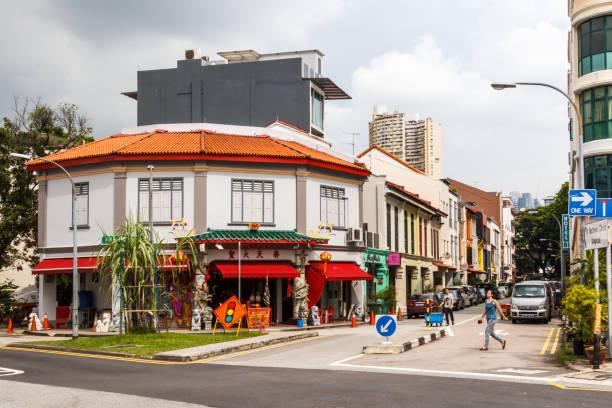 Straße im Bereich Tiong Bahru – Foto