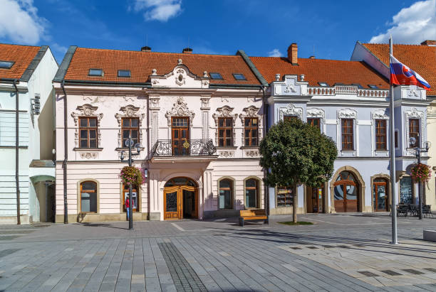 Straße in Trnava, Slowakei – Foto