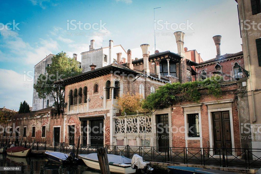 Straße in Venedig  – Foto