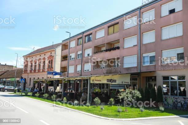 Strada A Zupanja - Fotografie stock e altre immagini di Ambientazione esterna