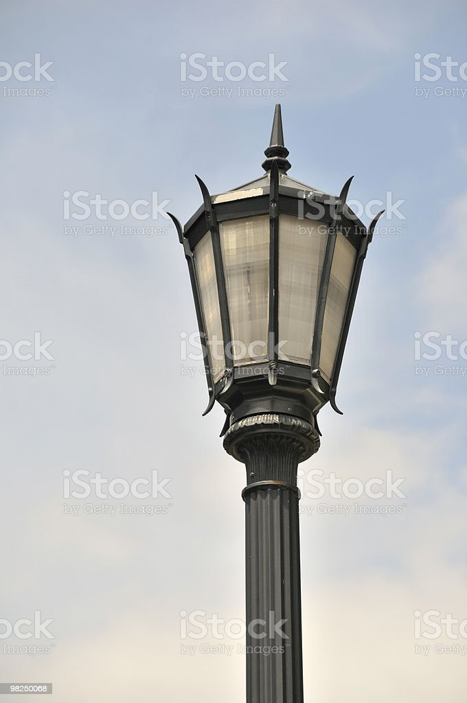 Street Lamp, Charleston, South Carolina royalty-free stock photo