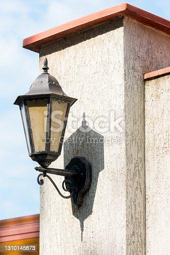istock street lamp on the wall 1310145873