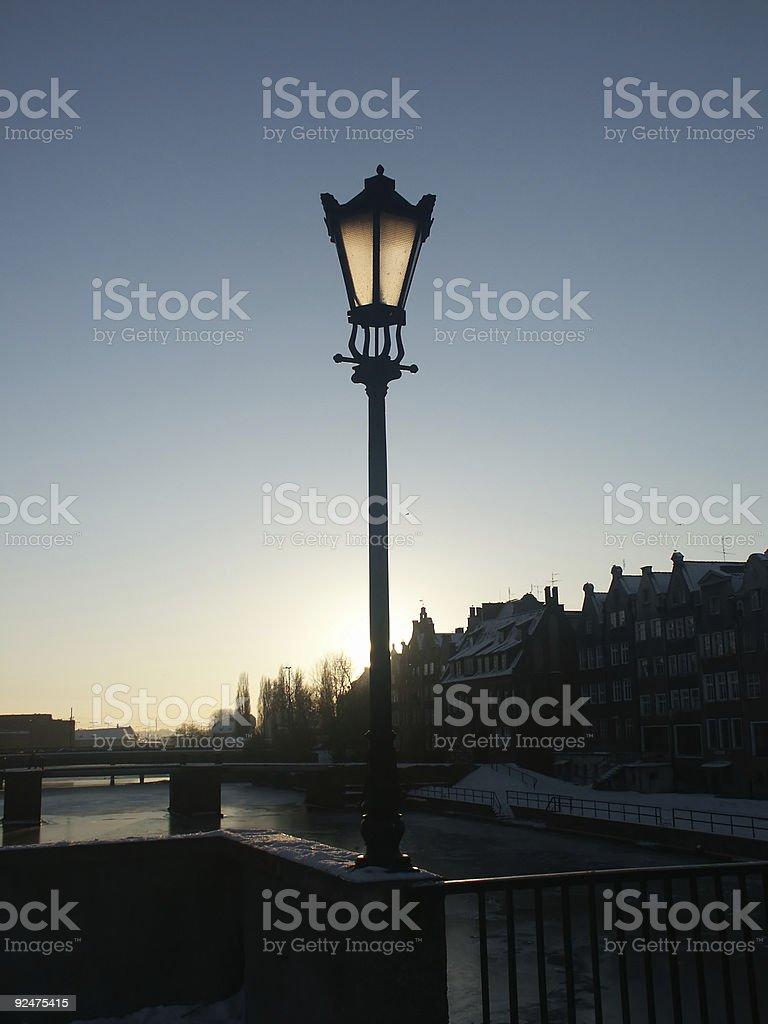 Street Lamp royalty-free stock photo