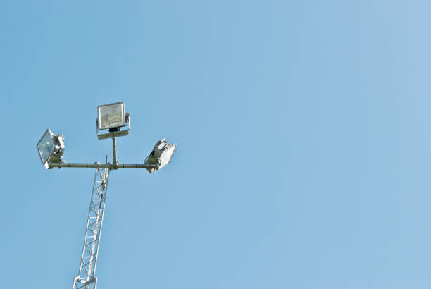 lamp post street - eisenstadt austria stock-fotos und bilder