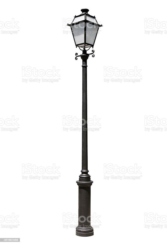 Street lamppost stock photo
