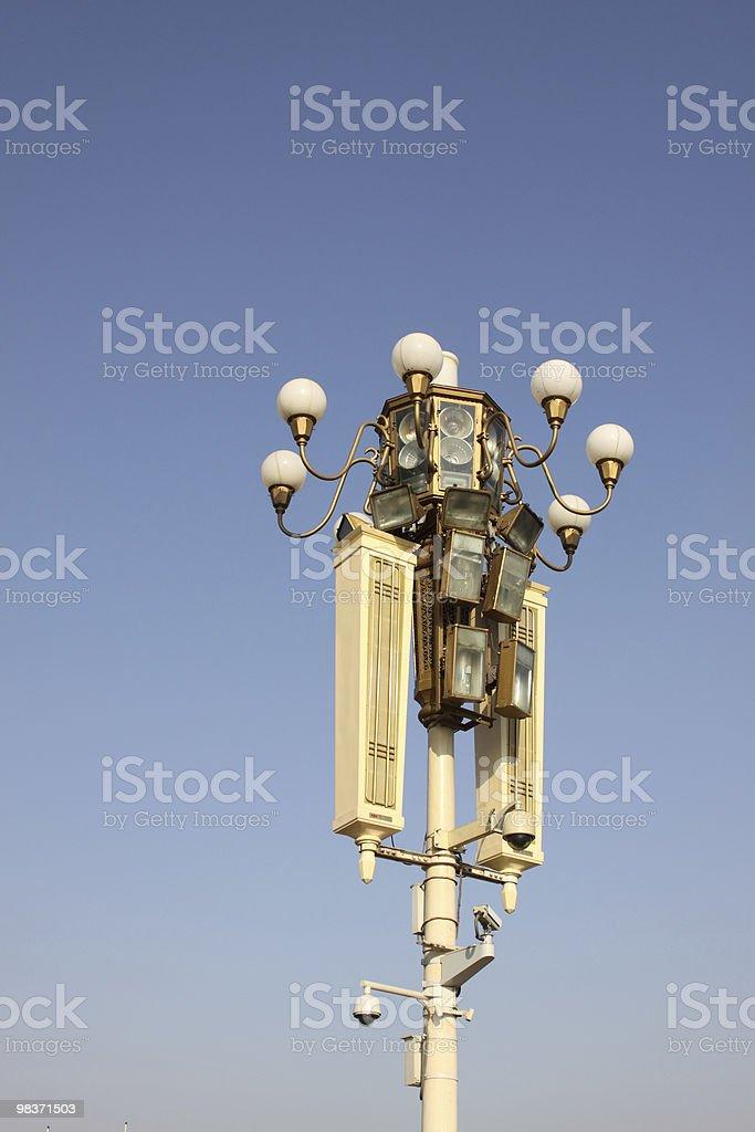 Lampioni strada foto stock royalty-free