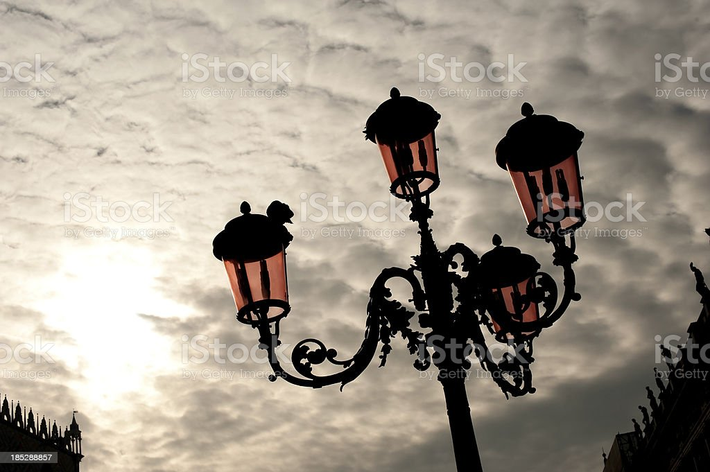 Street Lantern royalty-free stock photo
