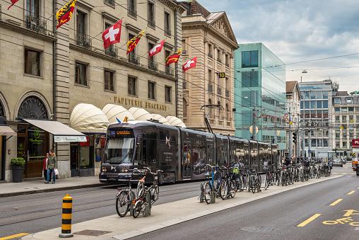 Street Life in Geneva, Swiss