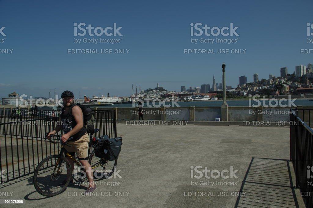 Vida de rua em São Francisco - foto de acervo