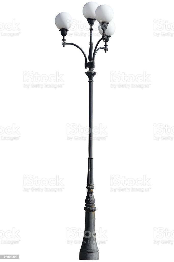 Street light lamp post royalty-free stock photo