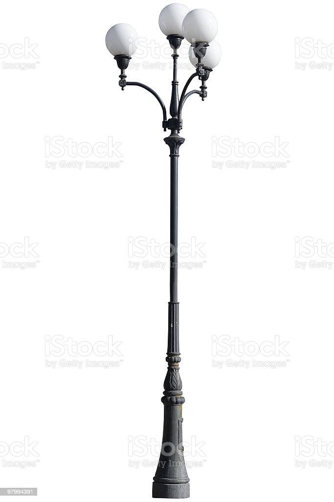 Street light lamp post royalty free stockfoto