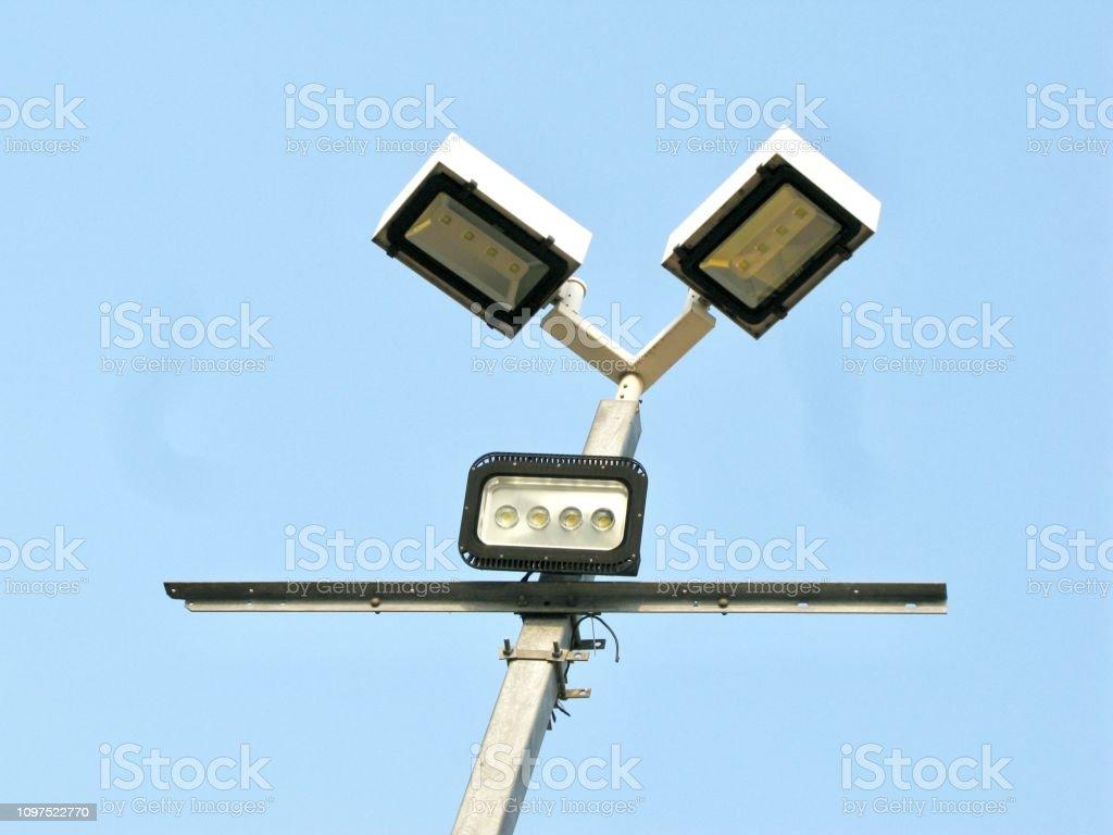 Modern LED Street Light, Light Pole, Lamppost, Street Lamp with...