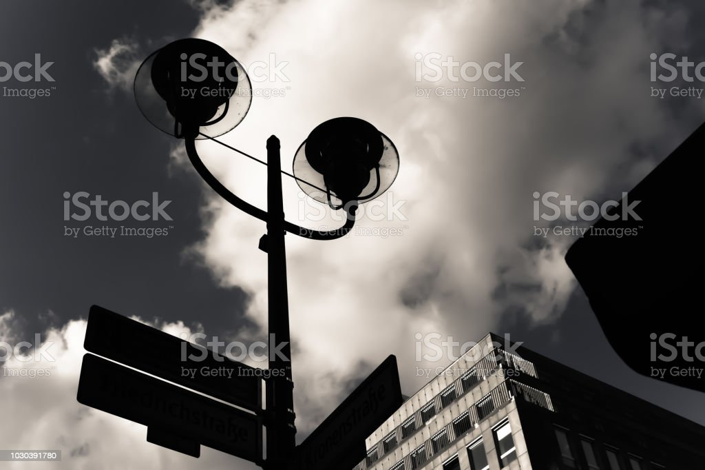 Street light stock photo