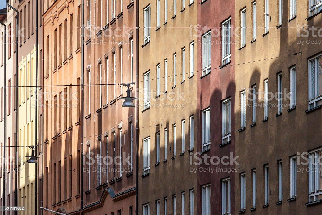 Street lights IV stock photo