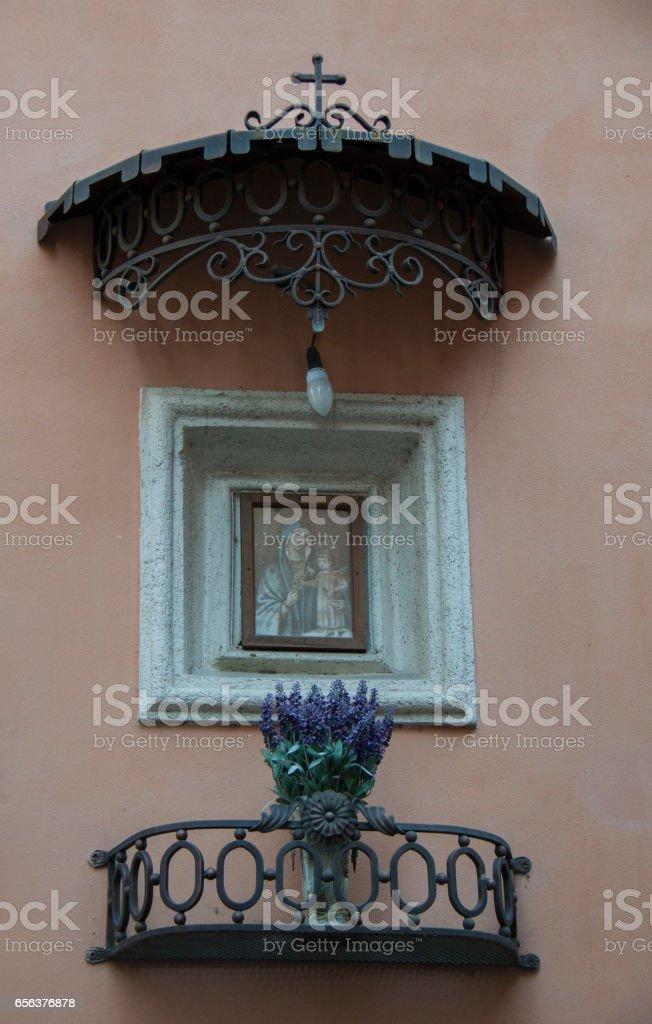 Street Madonna, Tivoli стоковое фото