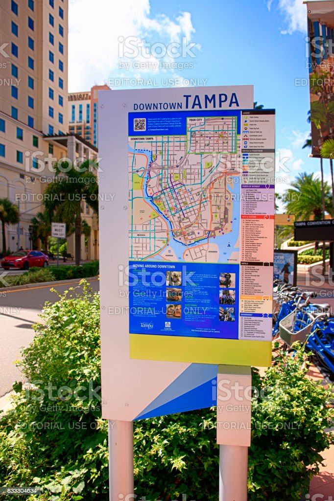 Map Of Tampa Florida.Royalty Free Tampa Map Pictures Images And Stock Photos Istock