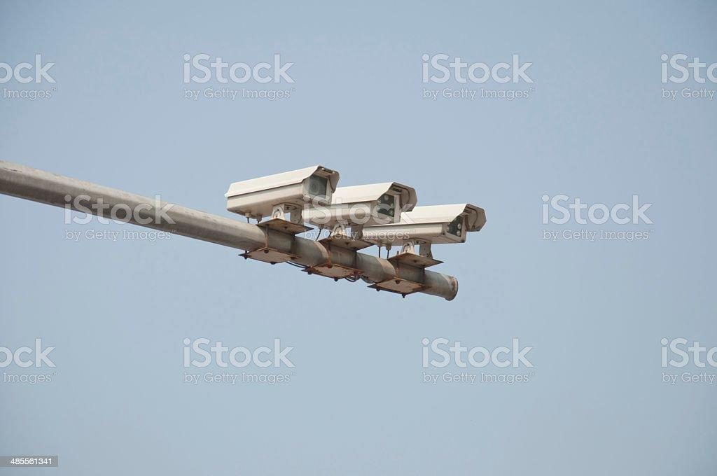 street monitor stock photo
