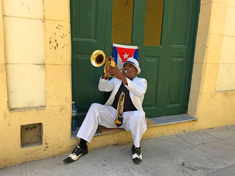 Street Musician Stock Photo - Download Image Now